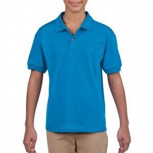 blue gildan shirt