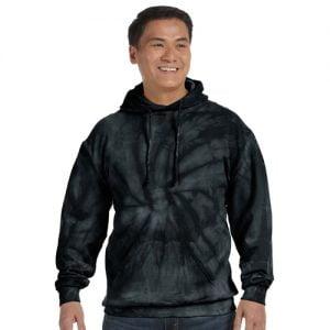 Tie Dye black hoodie