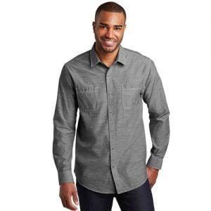 Port Authority button up shirt