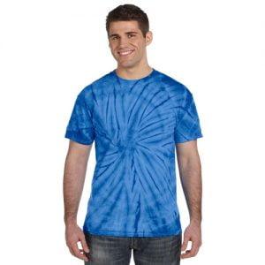 Tie Dye light blue shirt