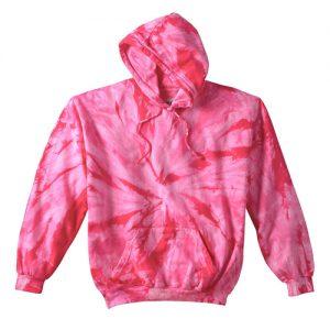 Tie Dye pink hoodie