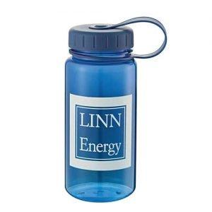 Linn Energy water bottle