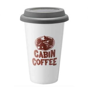 Cabin Coffee portable cup