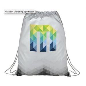 M gradient drawstring sportspack