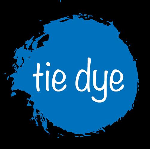 Tie dye logo