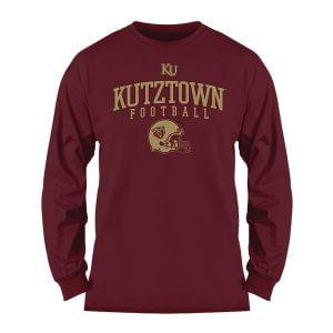 Kutztown football long sleeve shirt
