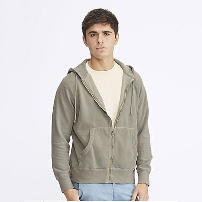 Comfort Colors hoodie zip up