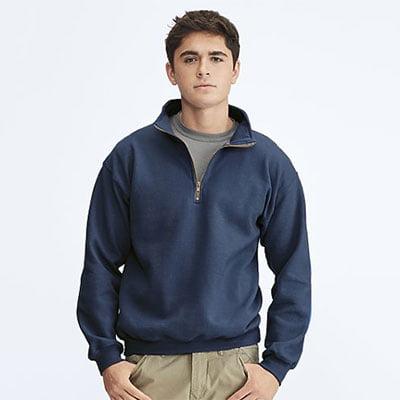 Comfort Colors quarter zip shirt