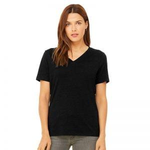 Bella + Canvas short sleeve v-neck