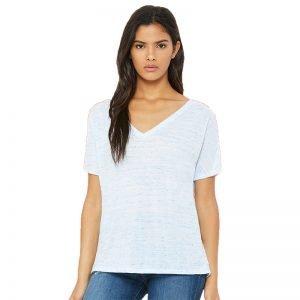 Bella + Canvas v-neck tee shirt