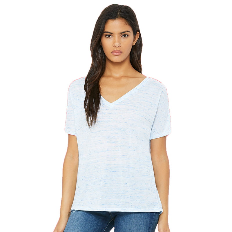 Bella + Canvas v-neck tee shirt