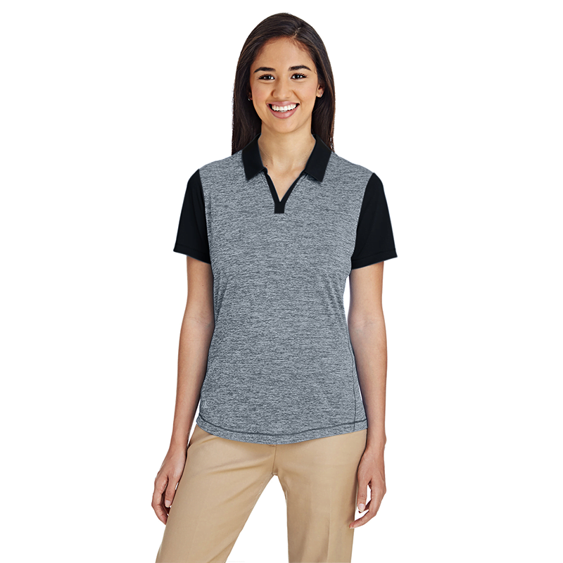 A146-Heather-Block-Ladies'-Polo