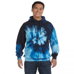 Tie Dye blue ocean hoodies
