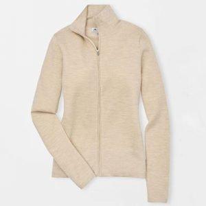 Peter Millar full zip sweater