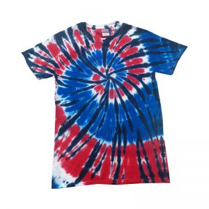 Tie Dye independence shirt