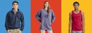 Comfort Colors assorted apparel