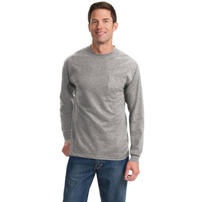 Port & Company long sleeve tee