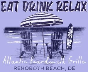 Eat Drink Relax Atlantic Boardwalk Grille logo