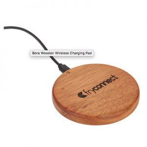 fryconnect Bora wooden wireless charging pad
