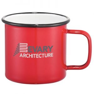 Evary Architecture metal cup