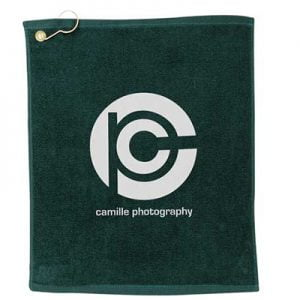 Terry golf towel camille photography