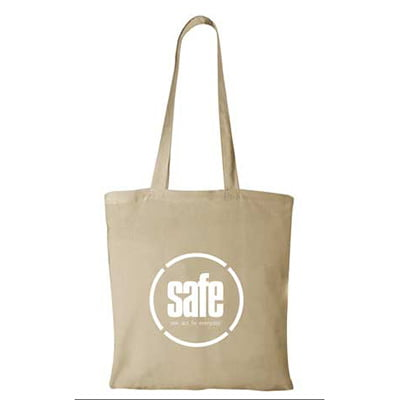 Safe canvas tote