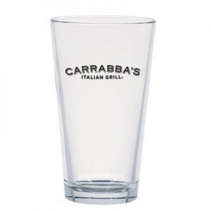 Carrabba's Italian Grill glassware