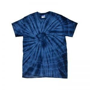 Tie Dye spider navy shirt