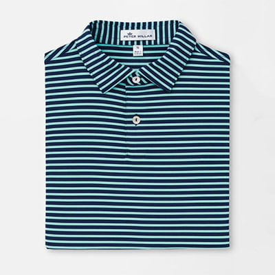 Youth-Donald-Stripe-Performance-Polo