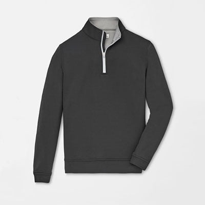 Peter Millar quarter zip shirt