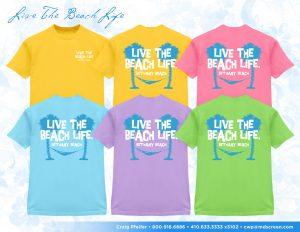 Bethany Beach assorted apparel