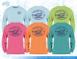 Sunset Cove long sleeve shirts