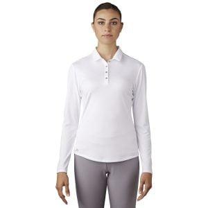 Adidas long sleeve polo