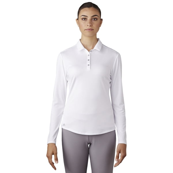 Ladies Performance Long Sleeve Polo