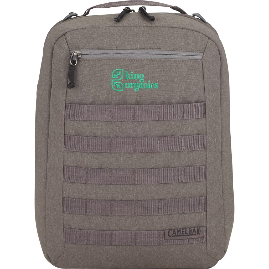 King Organics Camelbak backpack