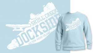 Skull Creek Dockside Hilton Head Island long sleeve shirt
