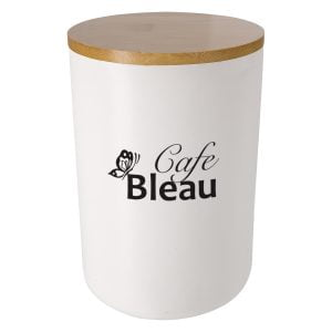 Cafe Bleau container