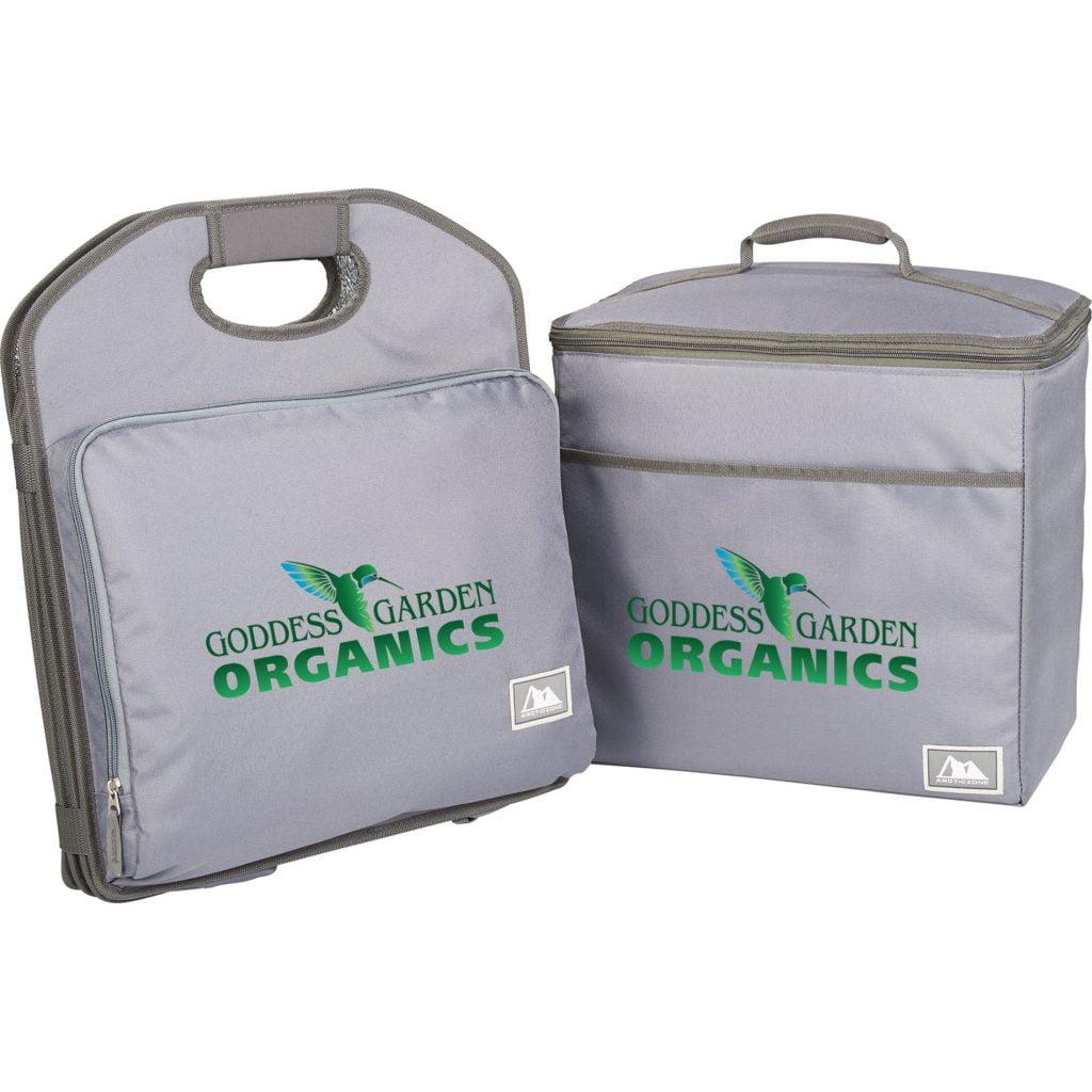 Goddess Garden Organics cooler