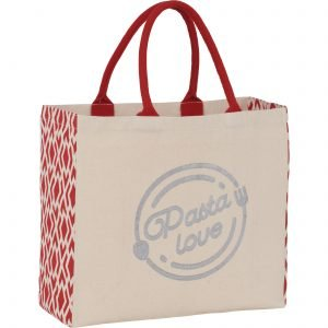 Pasta Love tote bag