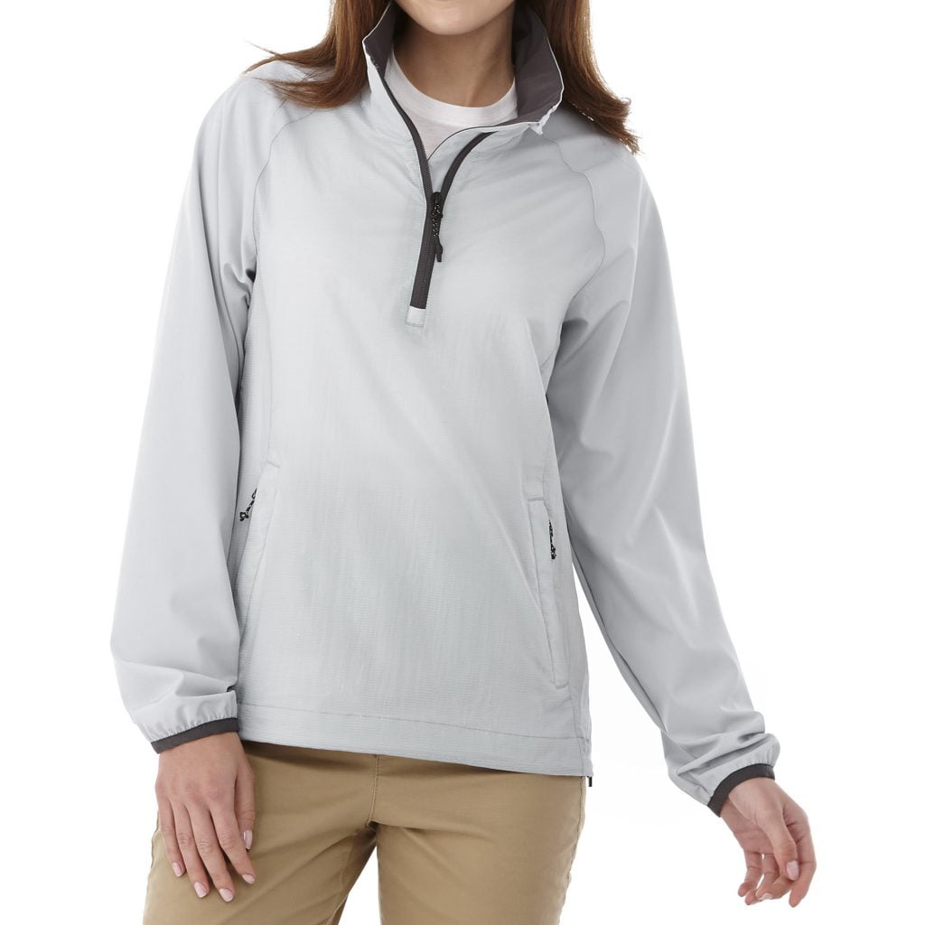 Elevate half zip jacket