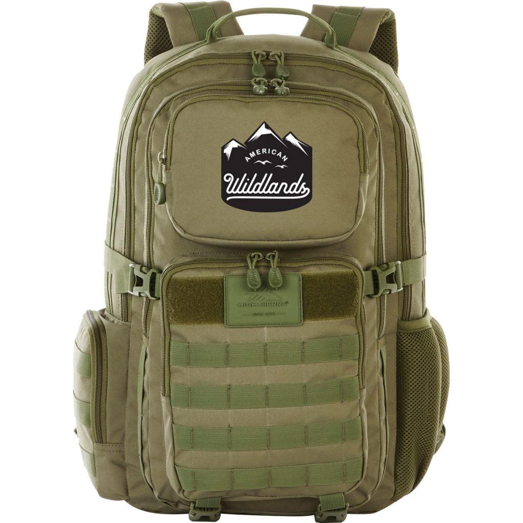 High Sierra American Wildlands backpack