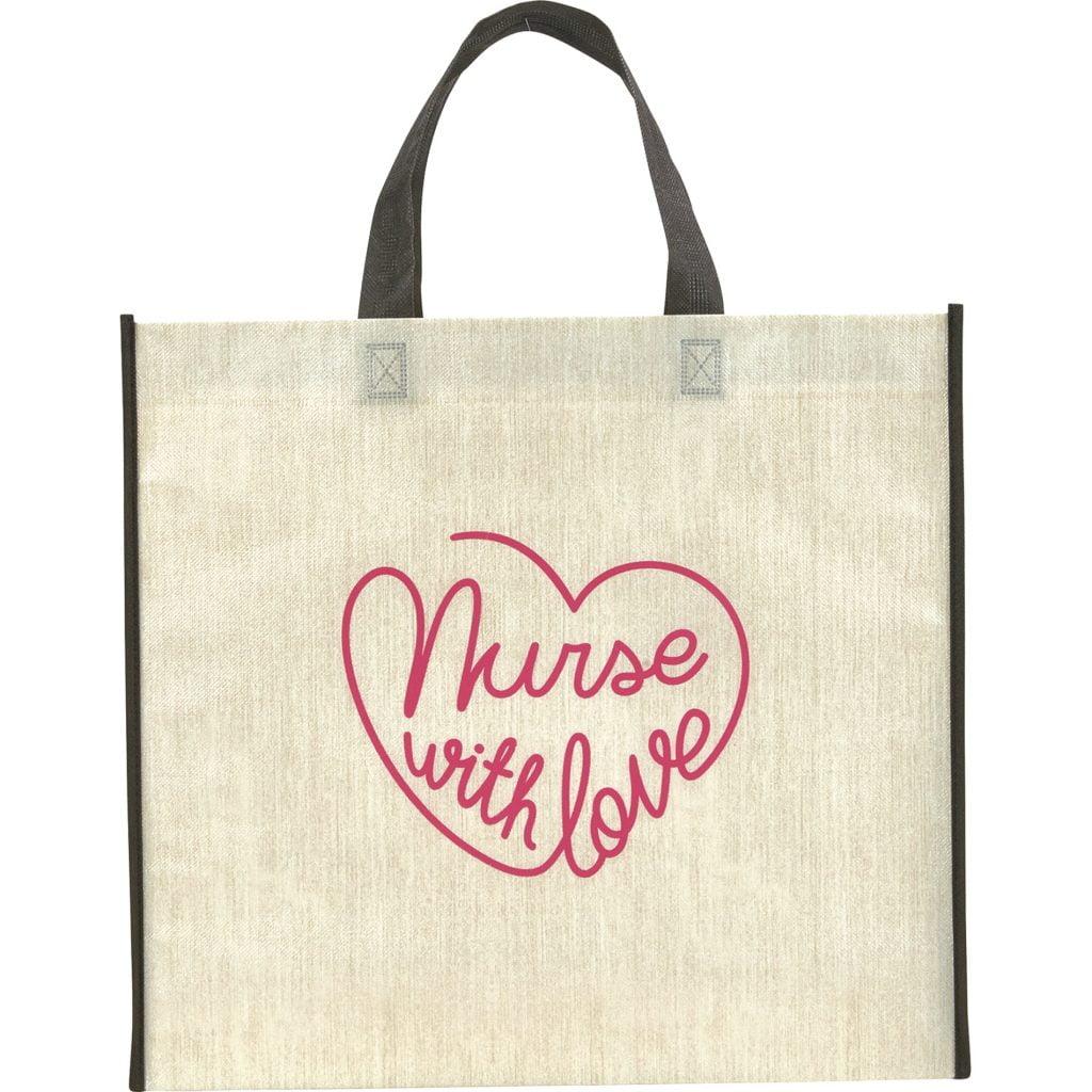 Nurse with Love tote bag