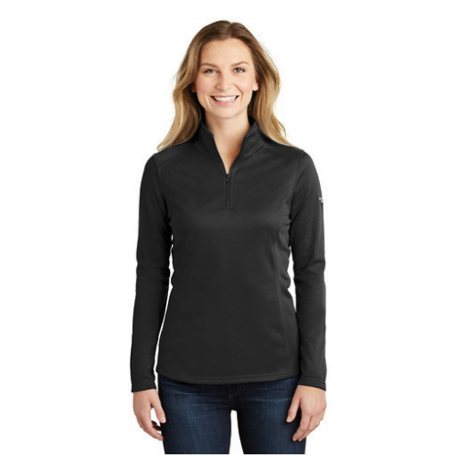 The North Face black quarter zip