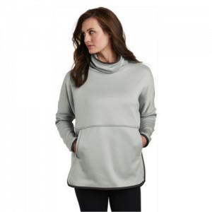 The North Face gray sweatshirt