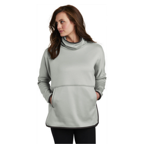 The North Face gray sweatshirt