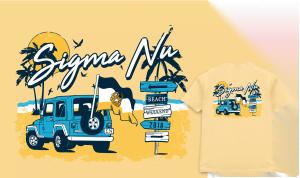 Sigma Nu tee shirt