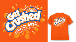 Get Crushed Sunset Cove shirt