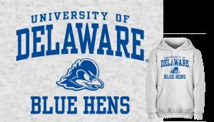University of Delaware sweatshirt