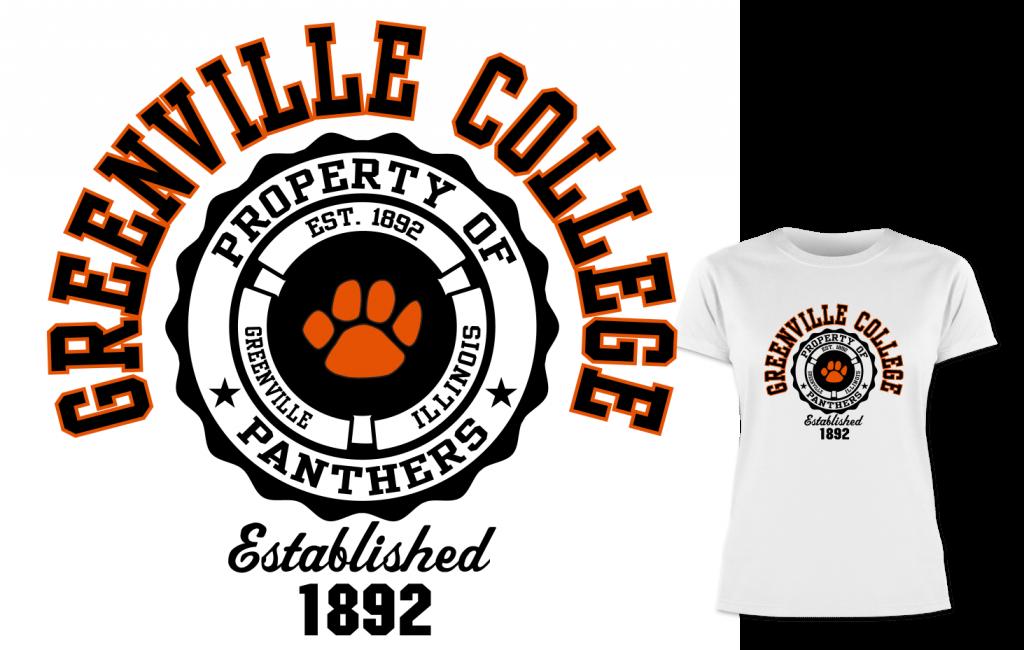Greenville College tee shirt
