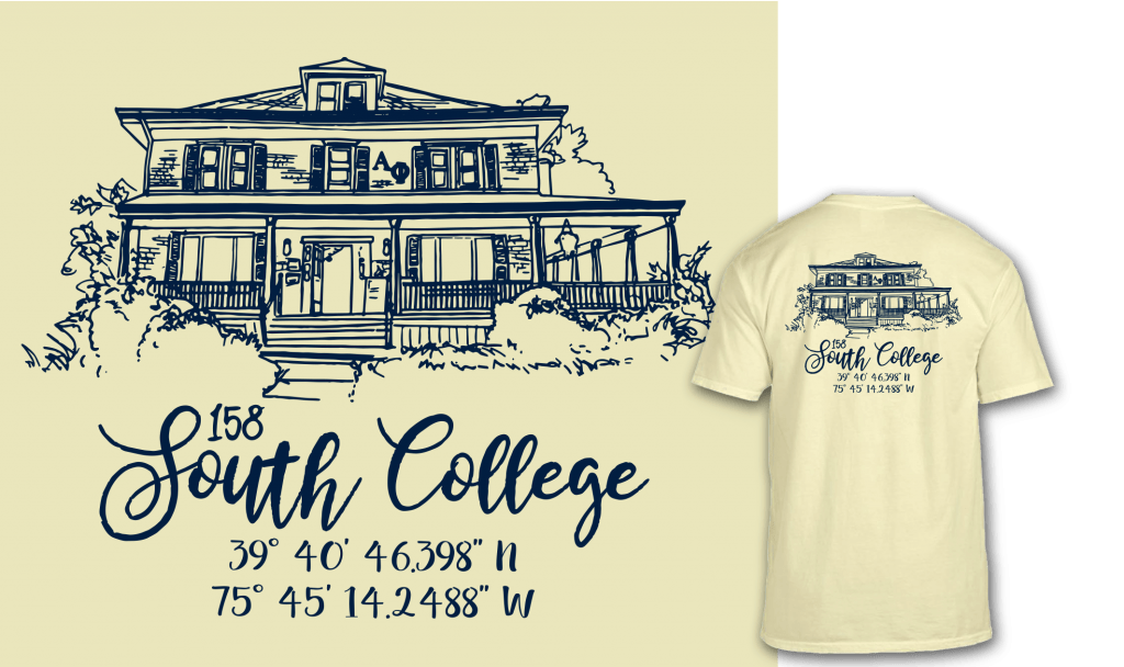 South College shirt